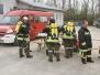 Atemschutzabschnittsübung in Maustrenk - 5.4.2014
